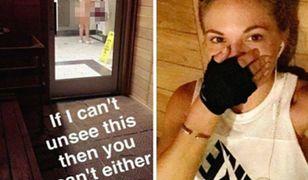 Popularna modelka wyśmiała zwykłą kobietę na siłowni, wrzucając jej nagie zdjęcie do internetu