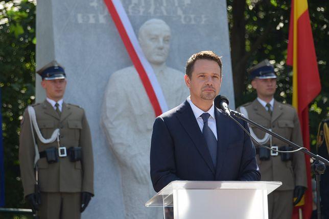 """Warszawa. Odsłonięto pomnik kpt. Stanisława Jankowskiego ps. """"Agaton"""""""