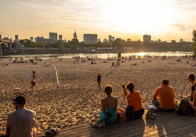 Warszawa. Pogoda na weekend. Będzie słonecznie