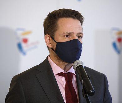 """Warszawa. Trzaskowski: """"Nie wykluczam współpracy z Gowinem, by zakończyć rządy PiS"""""""