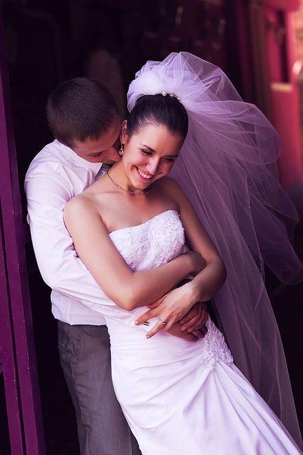 Polka w salonie sukien ślubnych