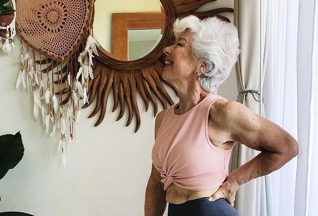 Joan MacDonald ma 74 lata i schudła 23 kg