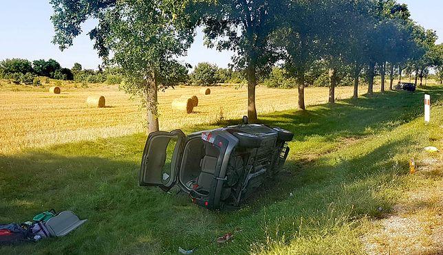 """Dziecko wśród 6 rannych w Wielęcinie. Wypadek na krajowej """"62"""""""