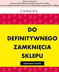 Warszawa. Sieć Camaïeu znika z Polski. W sklepach trwają wyprzedaże