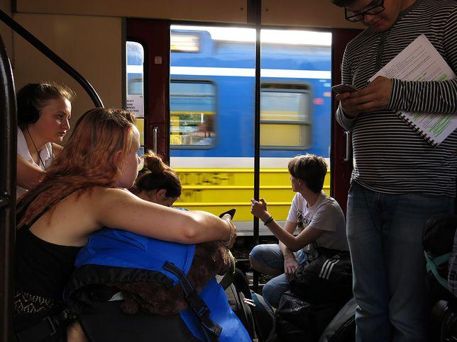 PKP kontra upały. Napoje dla pasażerów, gdy pociąg spóźni się… 120 minut