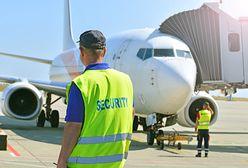 Gdańsk. Pijany pasażer wymusił zawrócenie samolotu