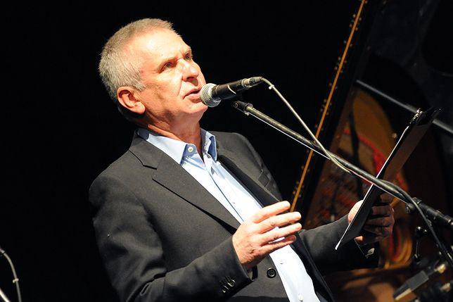 Krzysztof Materna jest polskim satyrykiem