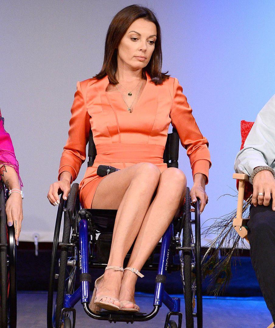 Katarzyna Glinka na wózku inwalidzkim. Chce w ten sposób uczyć tolerancji