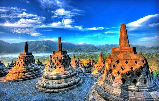 Świątynia indonezyjskich buddystów