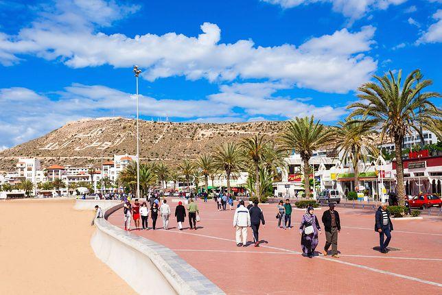 Z lotniska do Agadiru najlepiej dostać się taksówką lub wypożyczonym autem