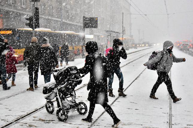Dzisiaj czekają nas intensywne opady śniegu