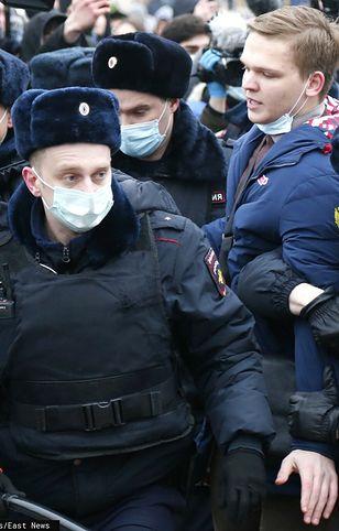Rosja. Protesty w obronie Nawalnego. Są pierwsi zatrzymani