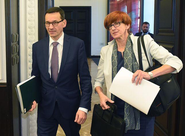 NA ŻYWO Wspólna konferencja premiera Morawieckiego i minister Rafalskiej