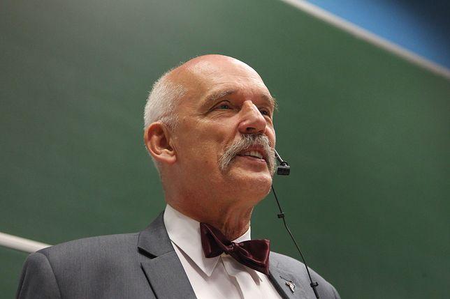 Korwin-Mikke będzie kandydował na prezydenta Warszawy