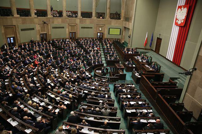 Przeciwko ustawie głosowały PO, Nowoczesna oraz PSL