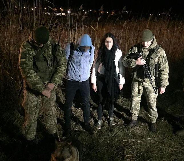 Zdjęcie zatrzymanych opublikowała ukraińska Straż Graniczna