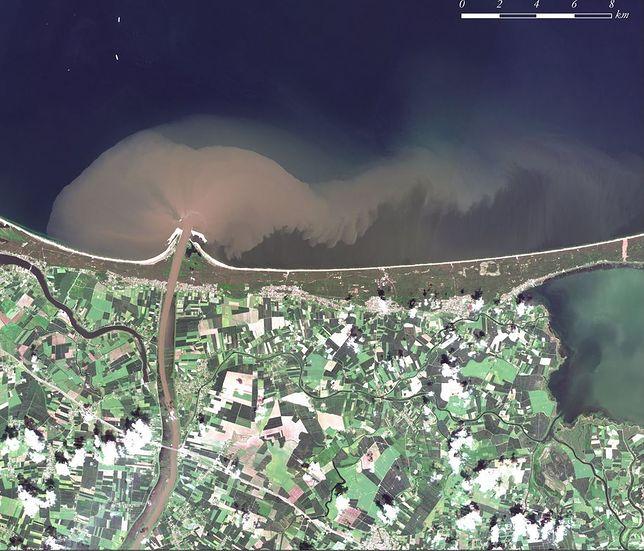 To NIE JEST zdjęcie nieczystości w Bałtyku