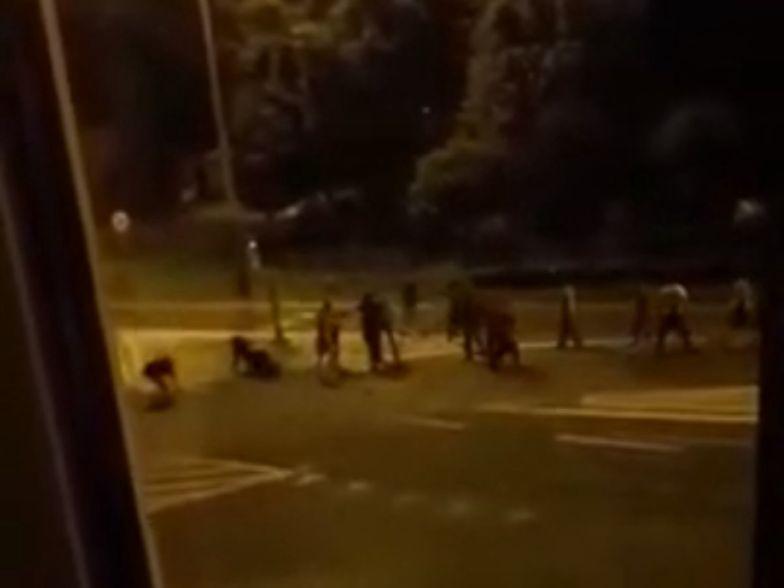 Uzbrojeni w maczety Gruzini napadli na kobietę i czterech mężczyzn
