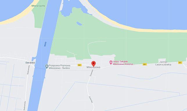 Kąpielisko w Mikoszewie