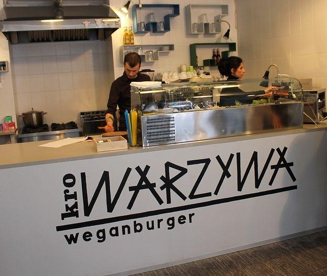 Krowarzywa: weganburgery po warszawsku