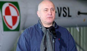 Szef MSWiA Joachim Brudziński przekonuje, że polska policja złapie Marka Falentę