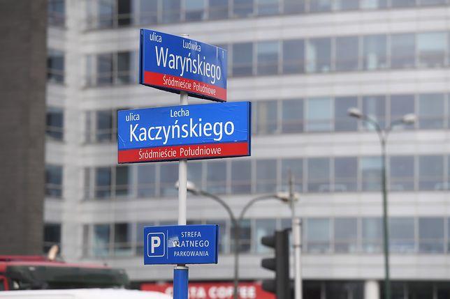 Ulica Lecha Kaczyńskiego już była raz w Warszawie.