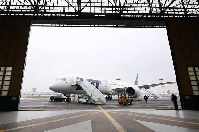 Dreamliner Boeing 787-9 Polskich Linii Lotniczych LOT