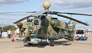 Rosyjski śmigłowiec bojowy Mi-28N