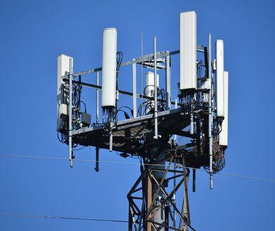 Maszt telefonii komórkowej 5G
