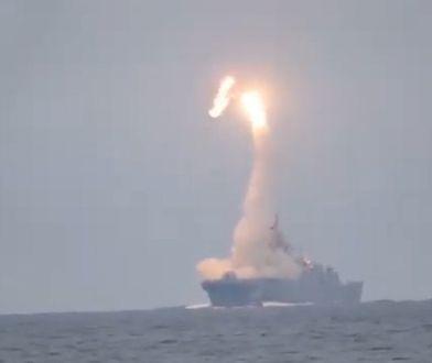 Rosja przetestowała hipersoniczny pocisk Cyrkon