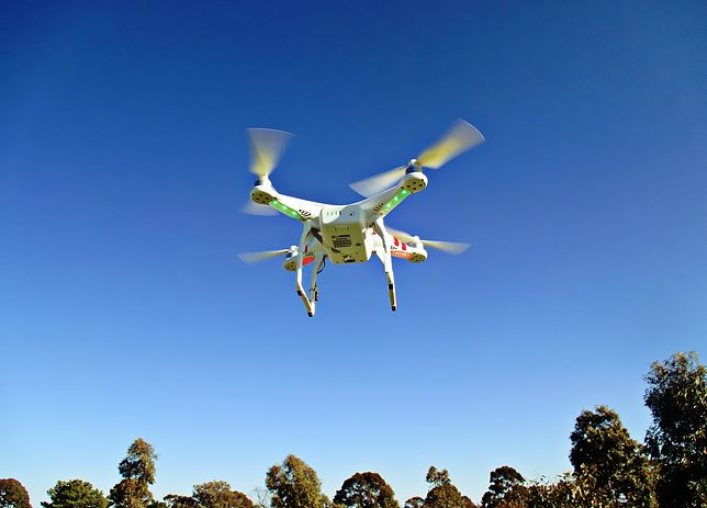 Drony z czasem zyskały bardzo dużą popularność