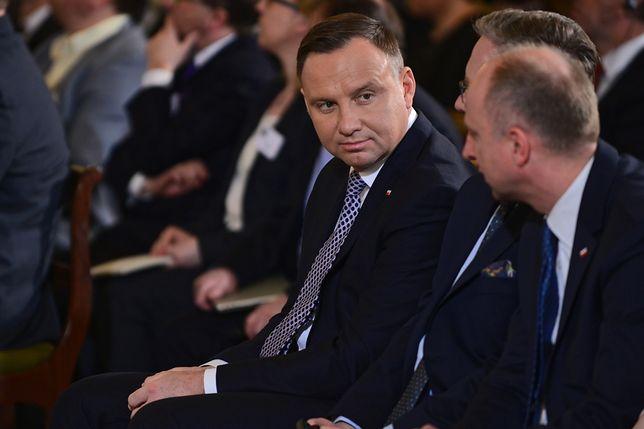 Prezydent Andrzej Duda