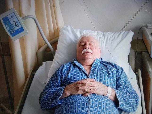 Lech Wałęsa przebywa w szpitalu