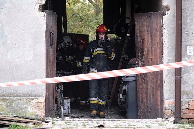 Wojkowice na Śląsku. Wybuch gazu
