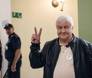 Na ogłoszeniu wyroku obecny był przewodniczący KOD Krzysztof Łoziński
