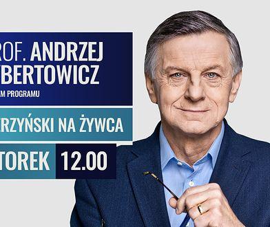 """Prof. Andrzej Zybertowicz w programie """"Bierzyński na żywca"""""""
