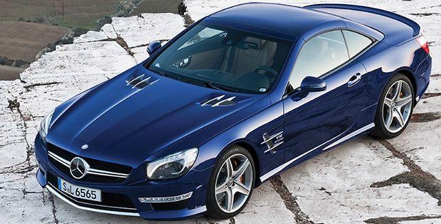 Mercedes SL AMG 65, auto dla wybrednych sportowców