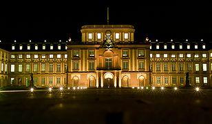 Zamek w Mannheim to drugi co do wielkości budynek barokowy w Europie