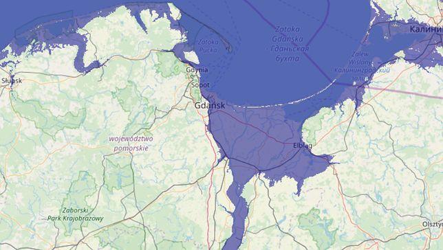 Naukowcy: poziom wody podniesie się o 20 metrów. Setki tysięcy Polaków zagrożonych