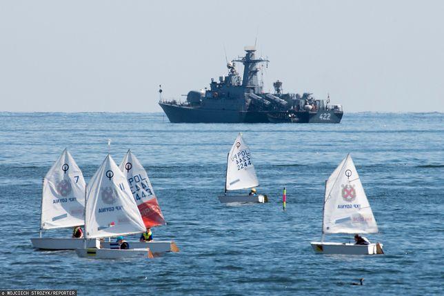 Okręt rakietowy ORP Piorun 422 projektu 660 typu Orkan Dywizjon Okrętów Bojowych 3 Flotylla Okrętów