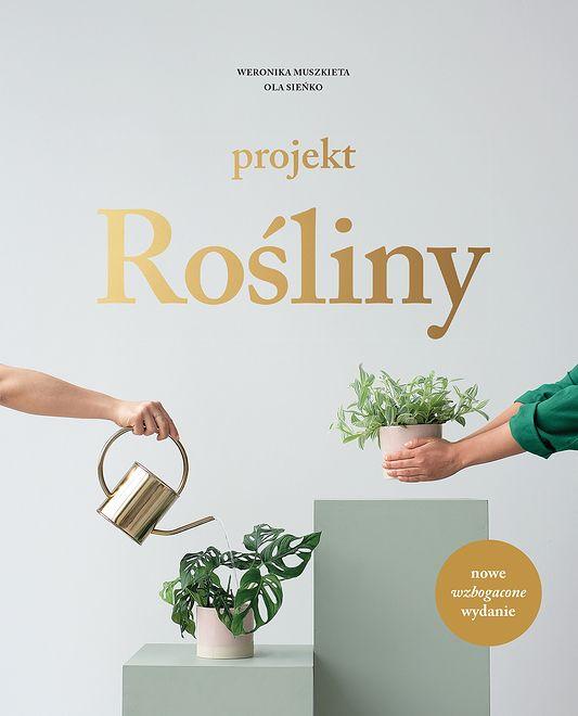 """Okładka książki """"Projekt Rośliny"""""""