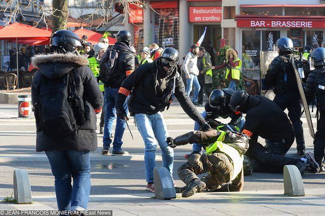 Protest żółtych kamizelek we Francji