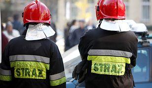 Pożar hali w Gnieźnie