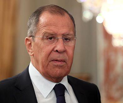 """Moskwa. Ławrow: Rosja sporządzi listę """"krajów nieprzyjaznych"""""""