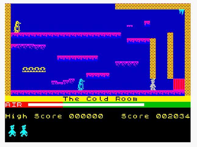 Pingwiny w kopalni...