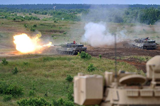 Wspólne ćwiczenia żołnierzy Polski, USA, Danii i Niemiec