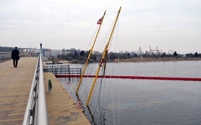Szczecin: zatonął jacht Down North