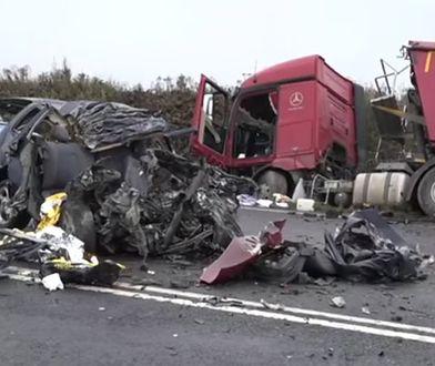 Wypadek w Zgorzelcu - zginął ojciec i dzieci
