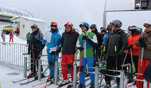 Prezydent Andrzej Duda uwielbia narty. Tym razem pasję dzielił z prezydentem Słowacji