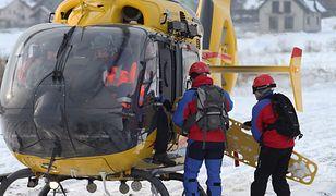 Kobieta trafiła do szpitala w Bielsku-Białej